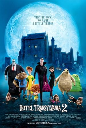 Poster_Hotel Transylvania 2 Review