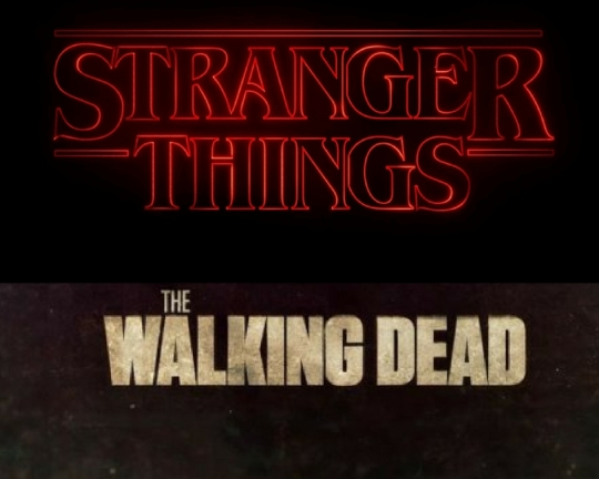 Stranger Things and The Walking Dead