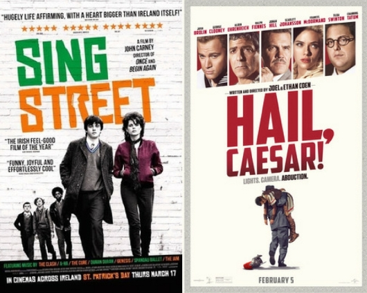 Sing Street and Hail Caesar!
